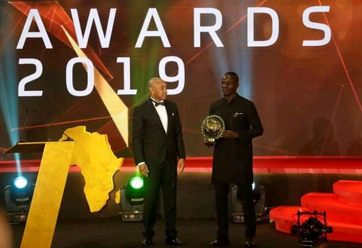 Mane Wins CAF  African Best Player Of The Year Award