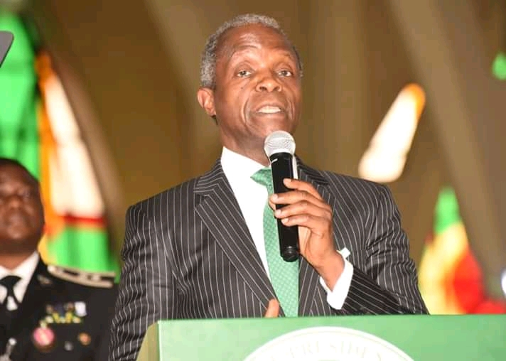 We Will Not Take Our Armed Forces For Granted- Vice president Yemi Osinbajo