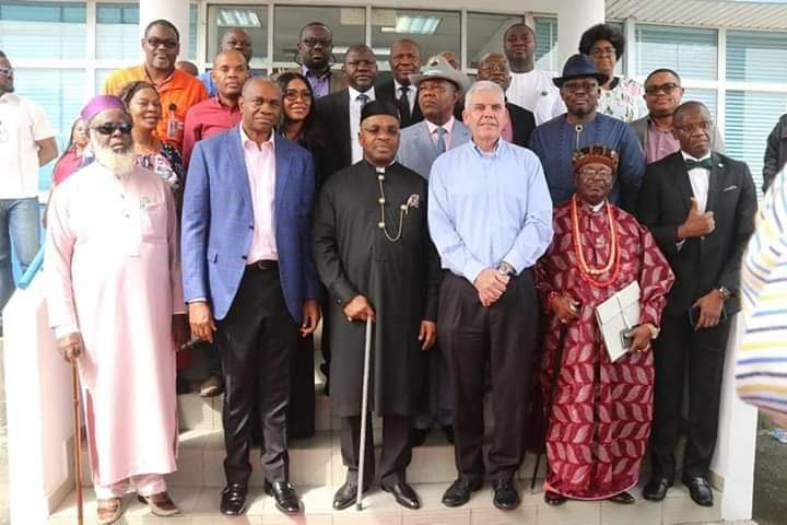Akwa Ibom State Gvt. Meets With The Exoonmobil:
