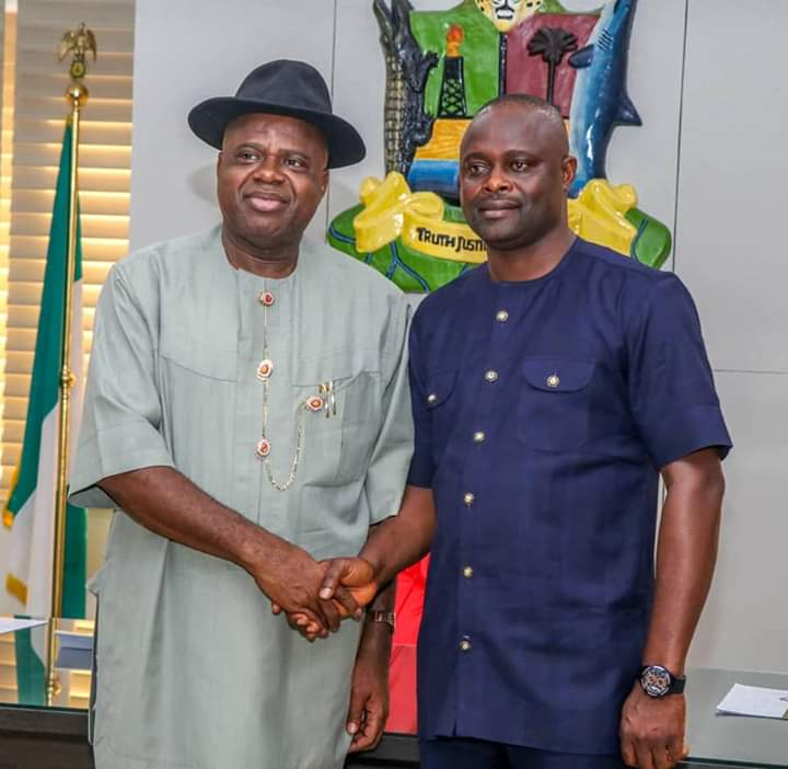 The New Speaker Of Bayelsa State House Of Assembly Pays Courtesy Call On Governor Douye Diri-(Photos)