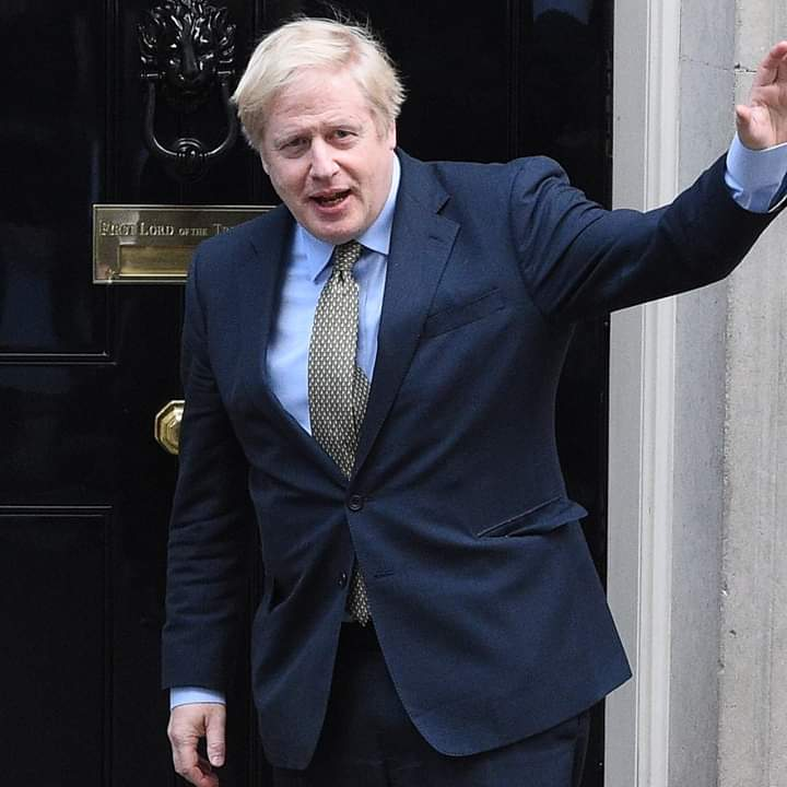 UK Prime Minister, Boris Johnson Condemns The Attacks On National Statues By Angry Protesters, Says It's A Disgrace >>>Newsline9ja.com