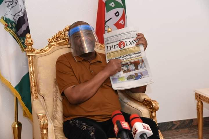 GOVERNOR WIKE PULLS OUT OF EDO PDP RECONCILIATION>>>Newsline9ja.com