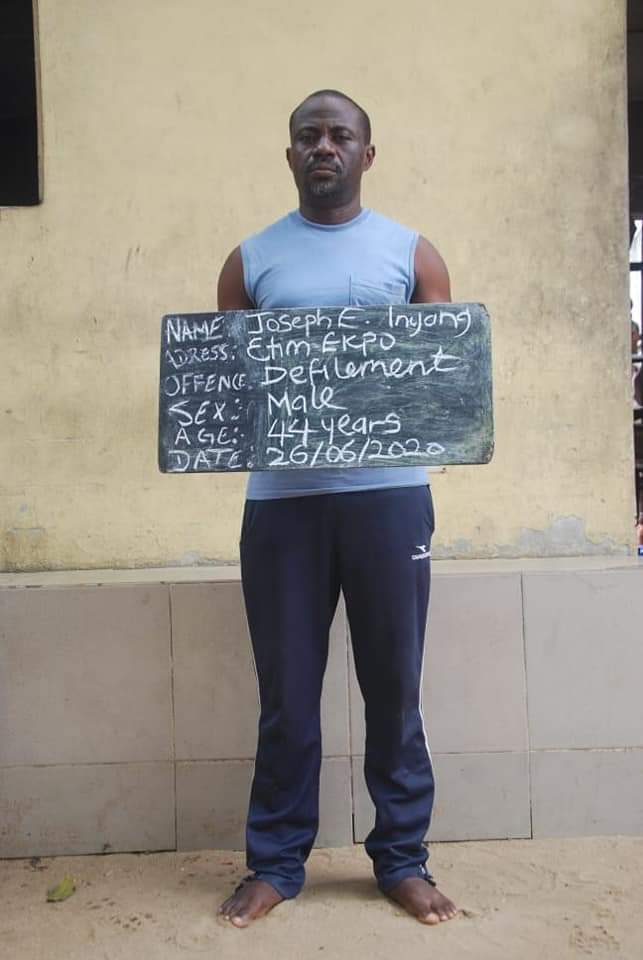 BREAKING: Police Arrest Man, 4 Others For Rape In Uyo (PHOTOS)