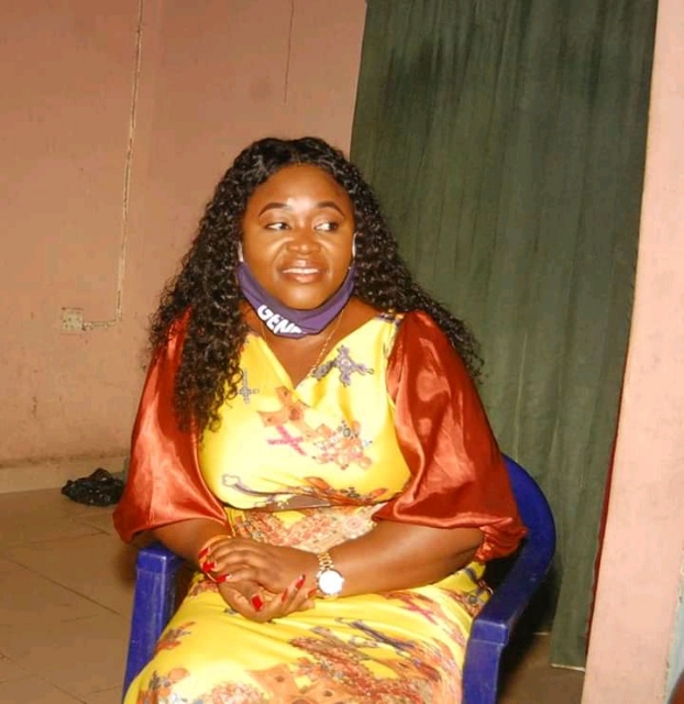 LADY. EDNA CONSULT HER WARD (ASANG WARD 4) IN NSIT IBOM L G A