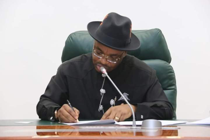 BREAKING: Gov. Udom Emmanuel Approves The  Reopening Of  Hotels And Leisure Centres In The State, Gives Date To Lift Night Curfew